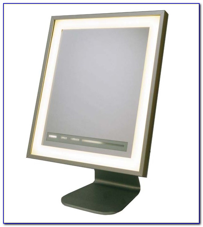 Starlet Lighted Tabletop Vanity Mirror
