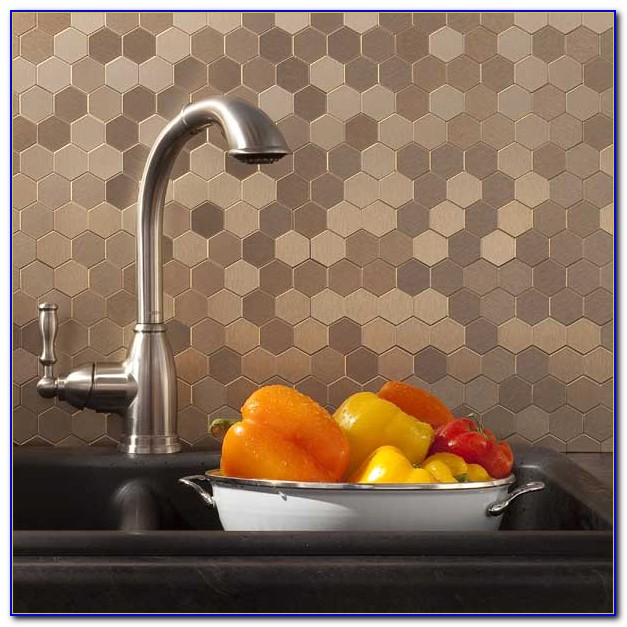 Stick On Tile Backsplash Canada