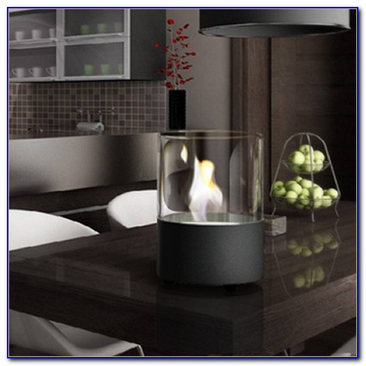 Stunning La Hacienda Bio Ethanol Tabletop Fireplace