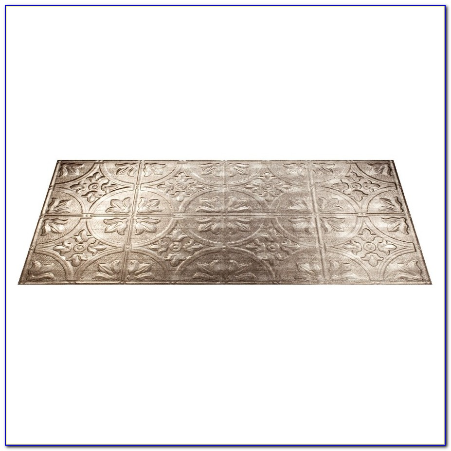 Surface Mount Ceiling Tile System
