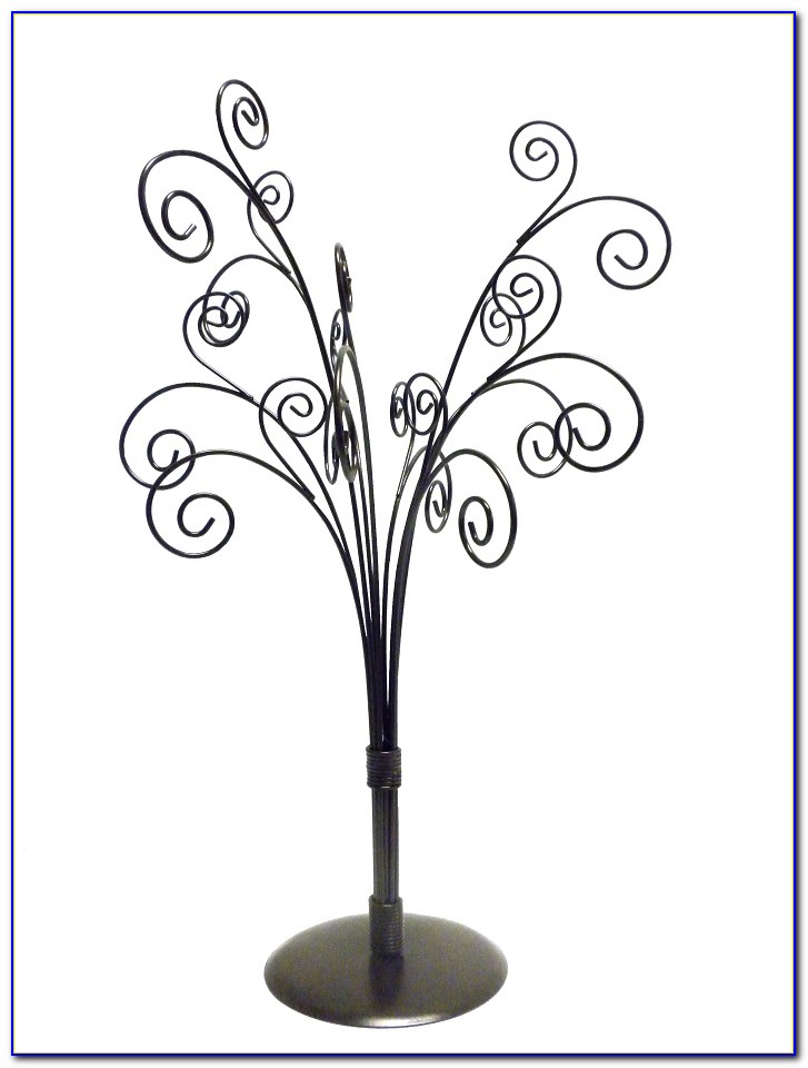 Table Top Note Card Holder Tree