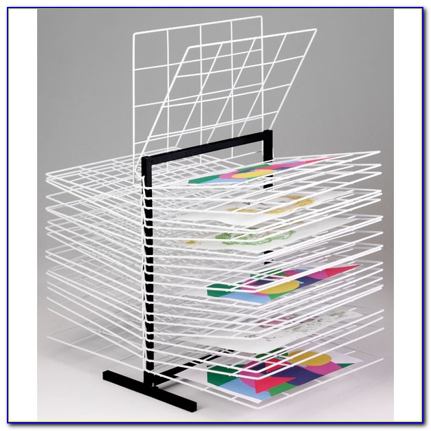 Table Top Paint Drying Rack
