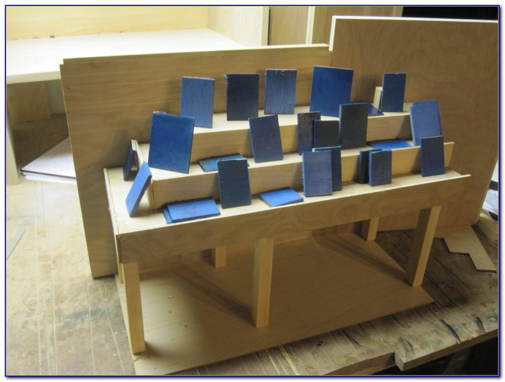 Tabletop Book Display Shelf