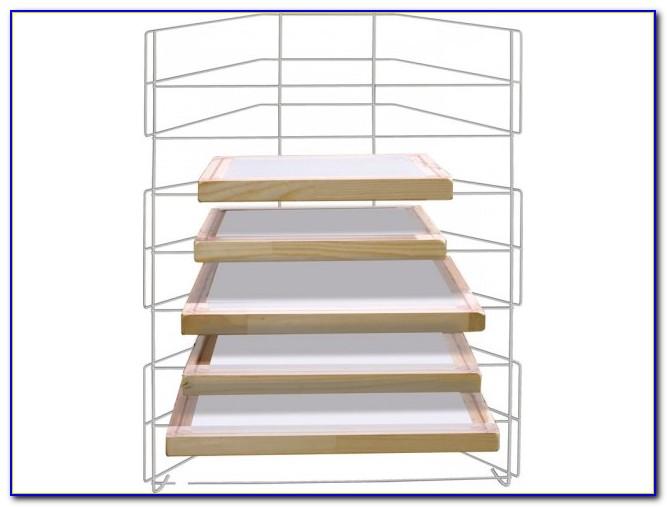 Tabletop Drying Rack Art