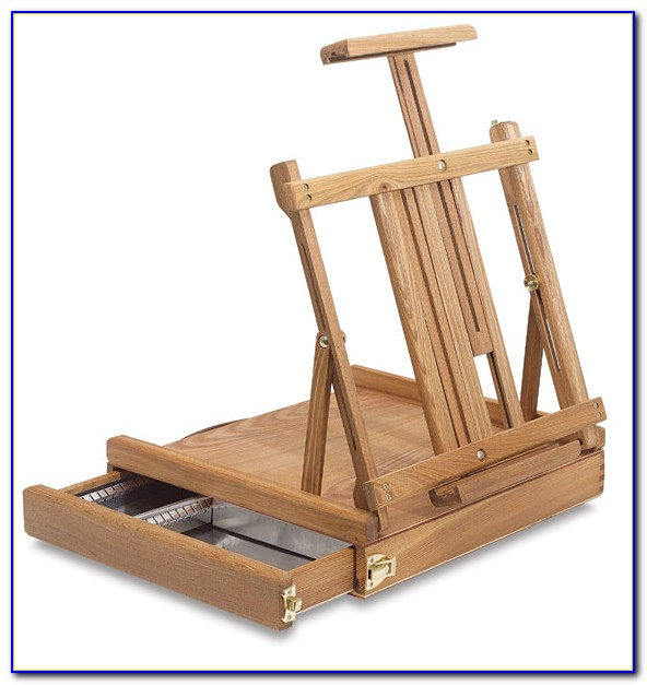 Tabletop Easel For Canvas Painting