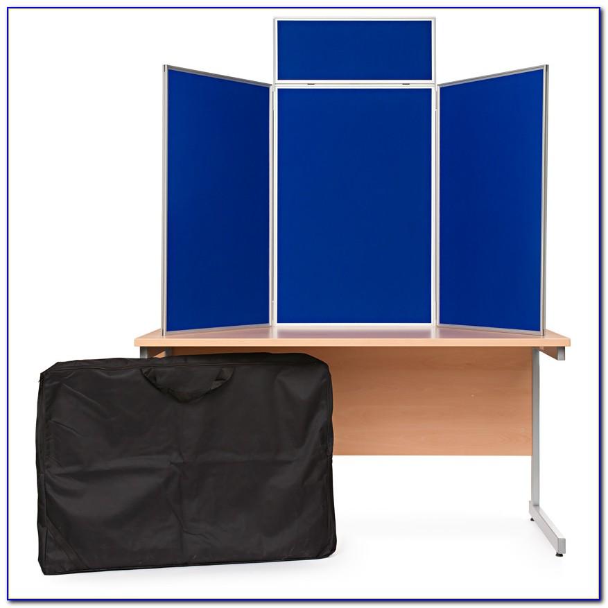 Tabletop Exhibit Display Presentation Board