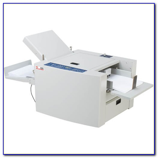 Tabletop Folding Machine Letter Size