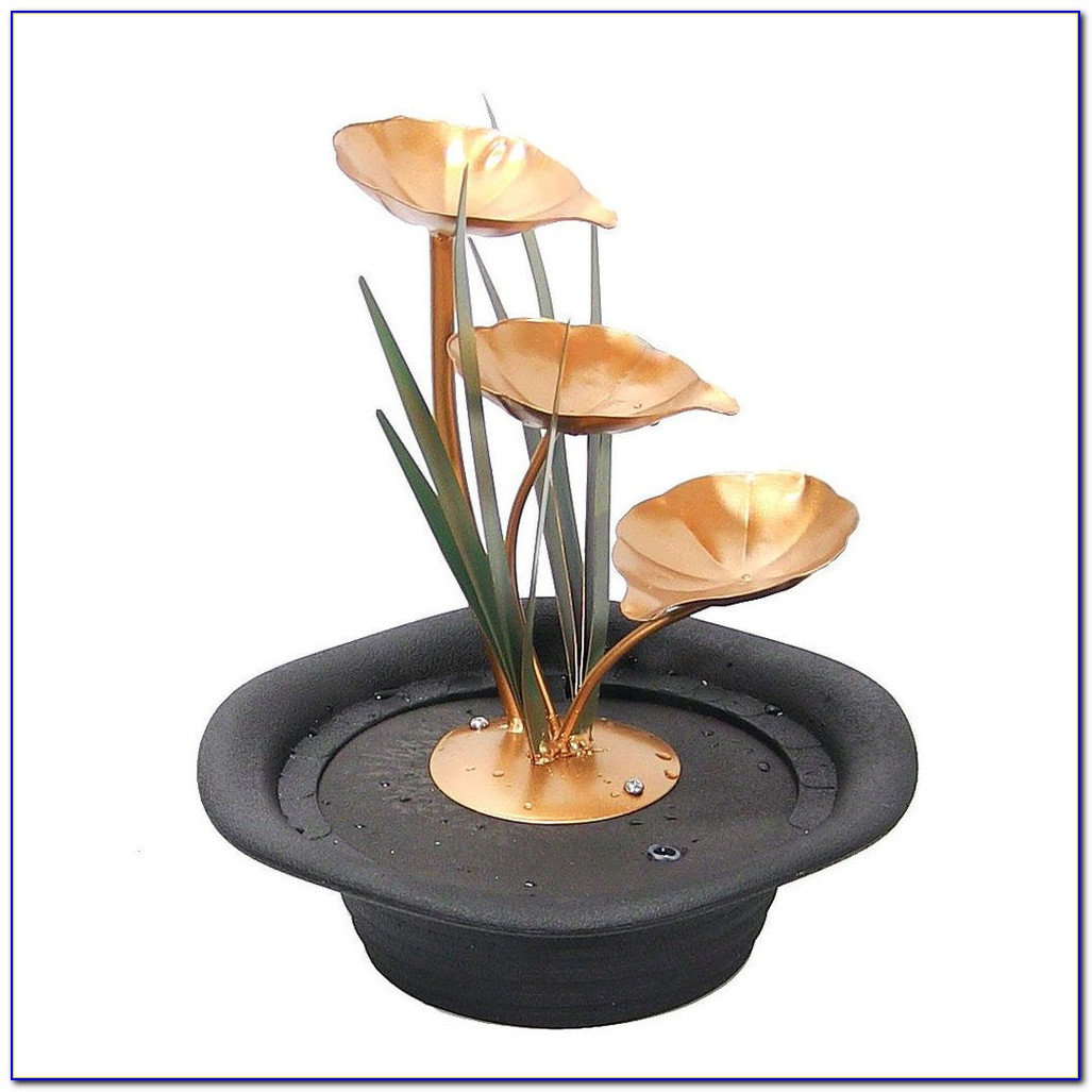 Tabletop Fountain Pumps With Lights