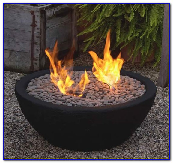 Tabletop Gel Fire Bowl