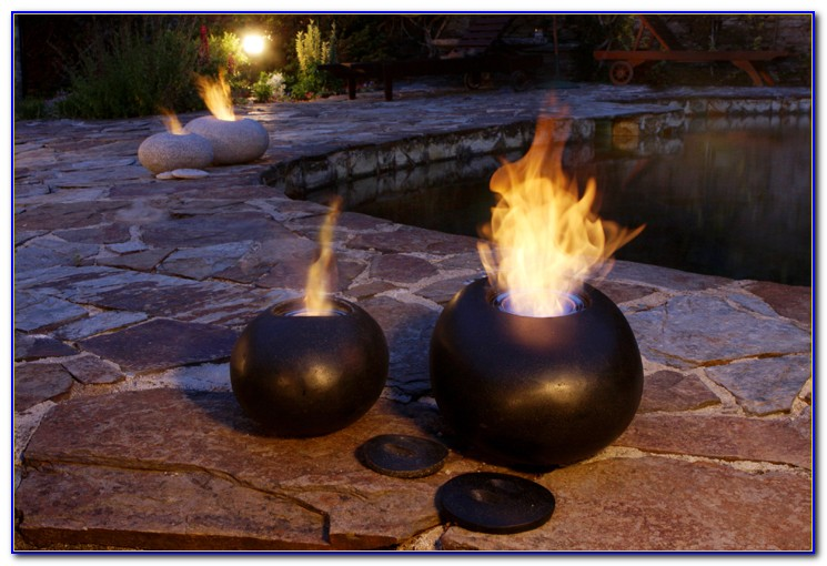 Tabletop Gel Fuel Fire Bowl