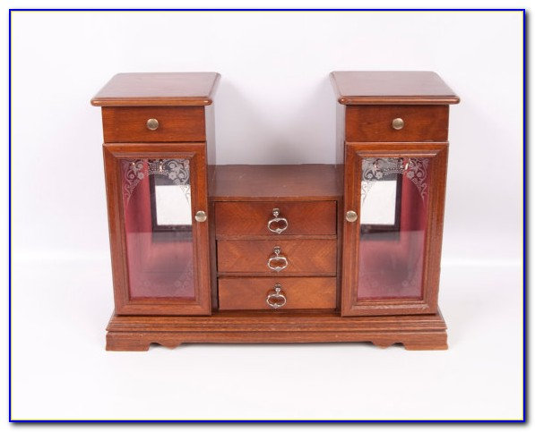Tabletop Jewelry Armoire