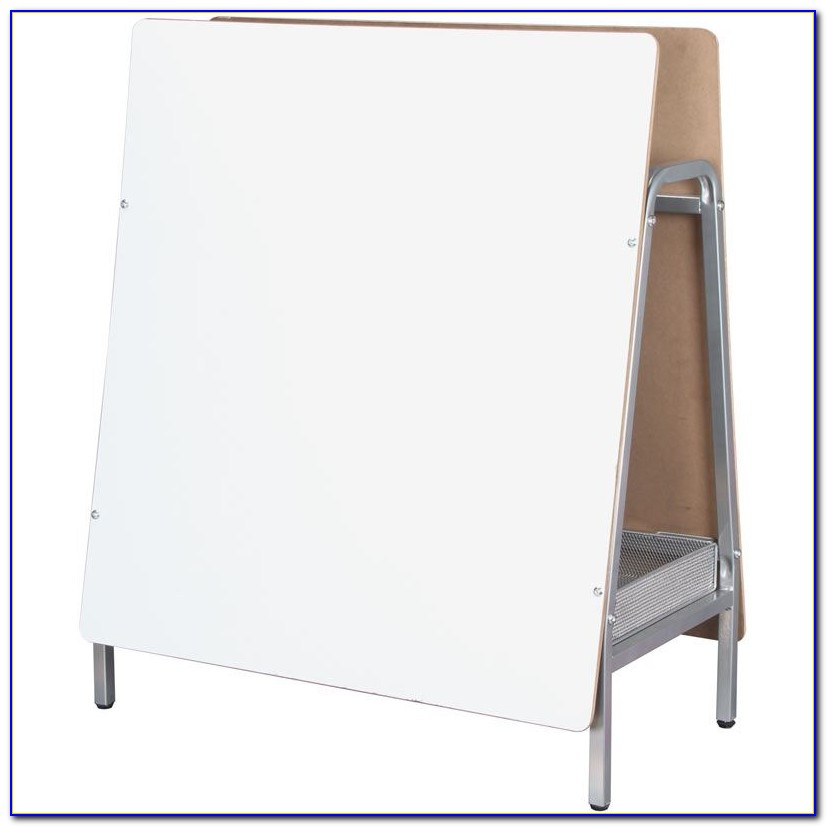 Tabletop Magnetic Marker Board Easel