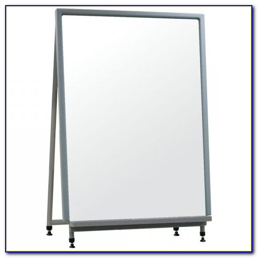 Tabletop Magnetic Whiteboard Easel