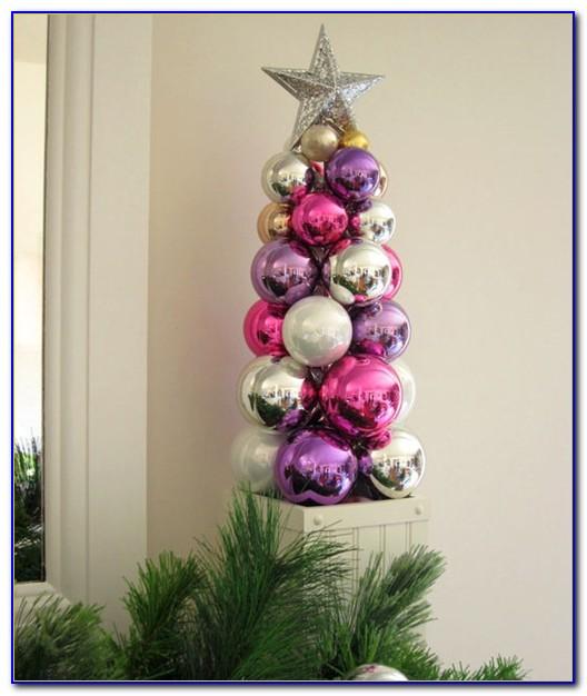 Tabletop Ornament Tree Display