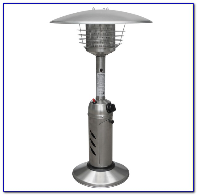 Tabletop Outdoor Heaters Propane