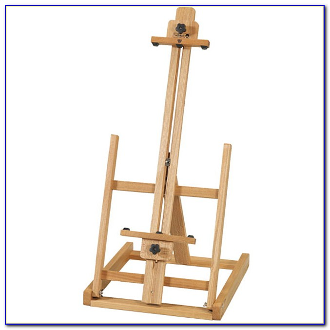 Tabletop Painting Easel Plans