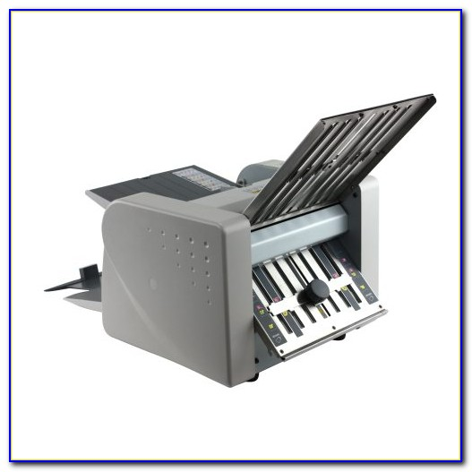 Tabletop Paper Folding Machine