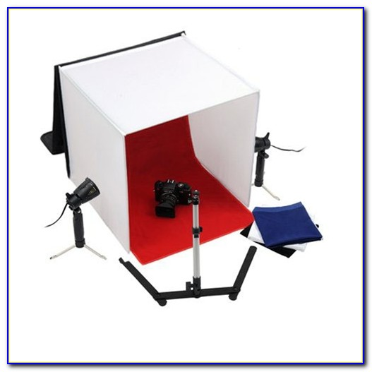 Tabletop Photo Studio Lights