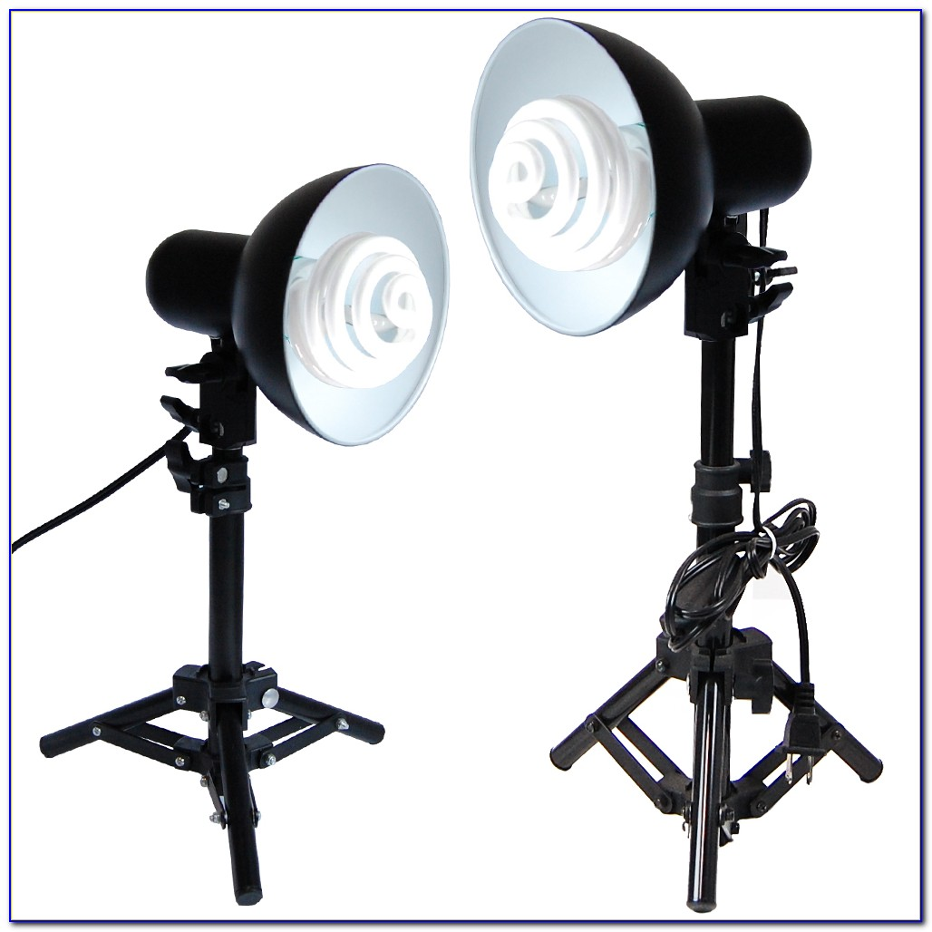 Tabletop Photography Lamps