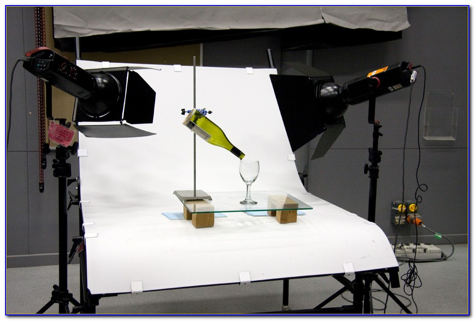 Tabletop Photography Lighting Setup