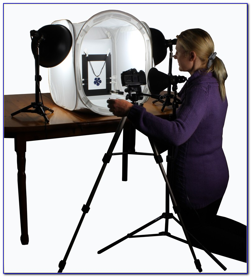 Tabletop Product Photo Studio Kit