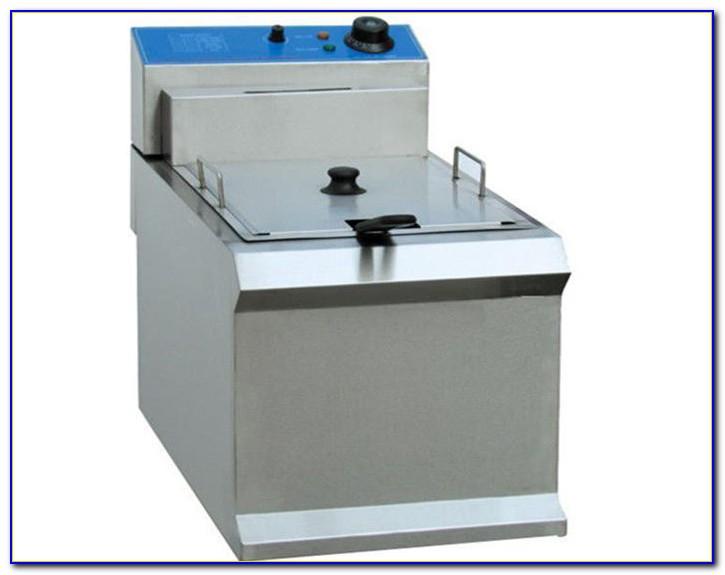 Tabletop Propane Deep Fryer