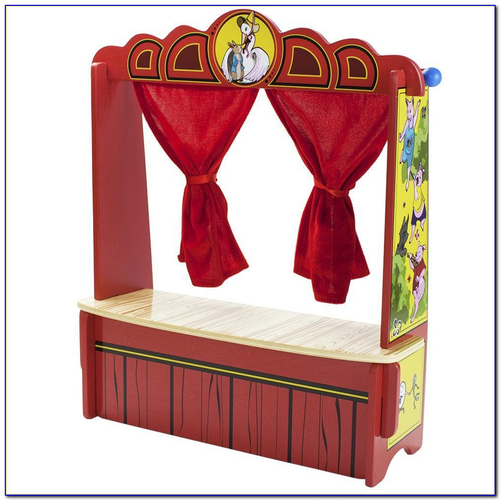 Tabletop Puppet Theater Melissa Doug
