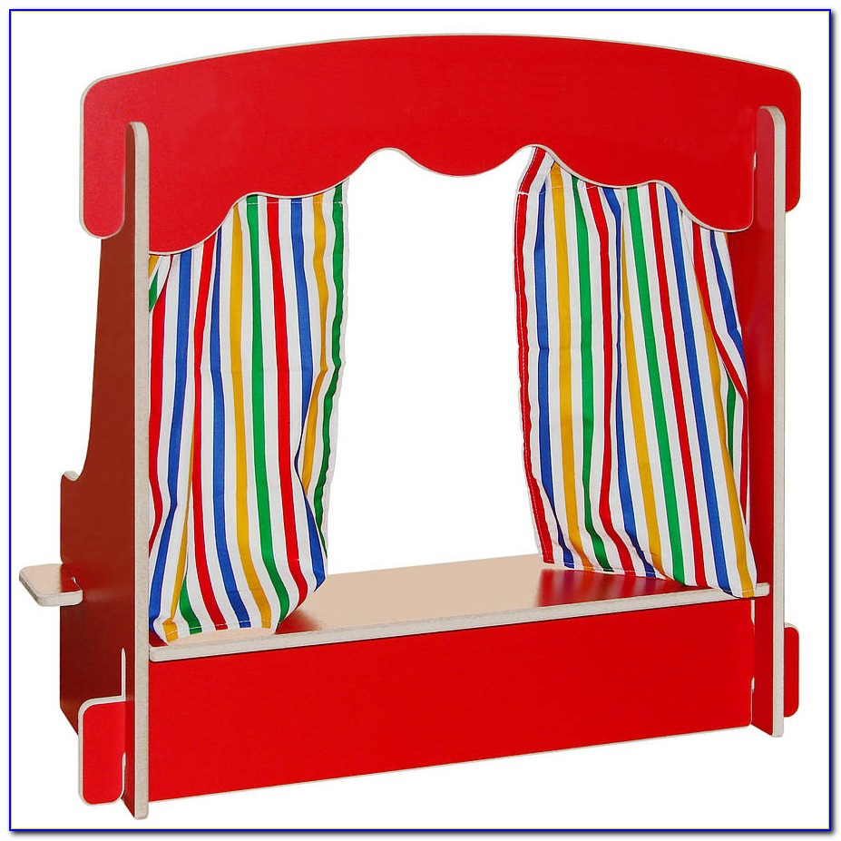 Tabletop Puppet Theater Plans