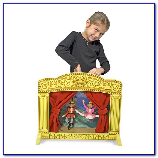 Tabletop Puppet Theatre Plans
