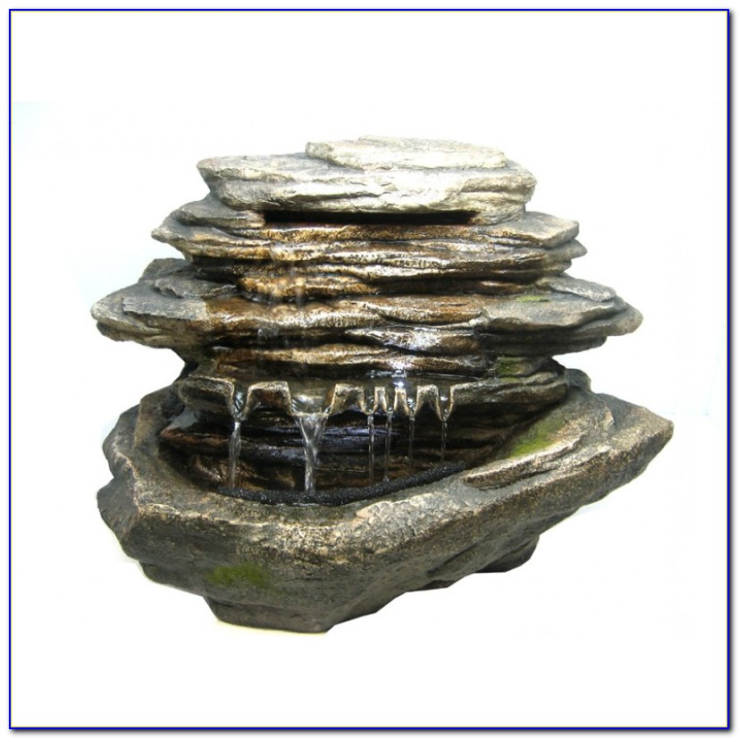 Tabletop Rock Water Fountains