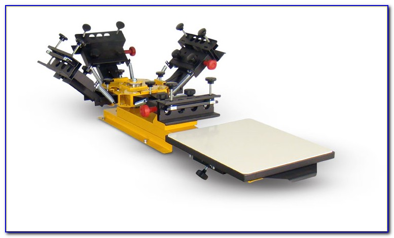 Tabletop Screen Printing Press Plans