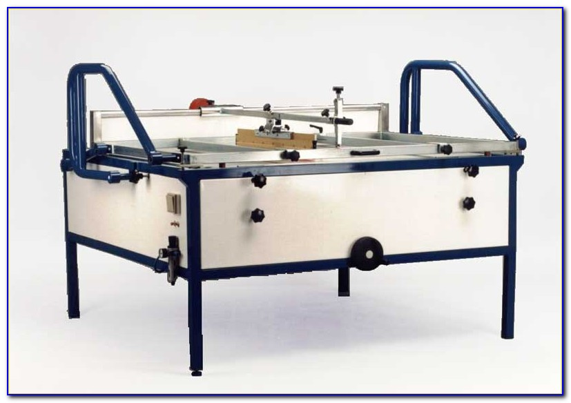 Tabletop Screen Printing Press
