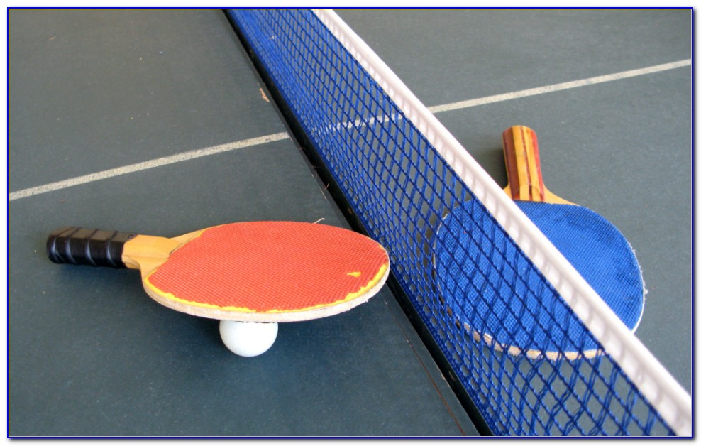 Tabletop Table Tennis Full Size