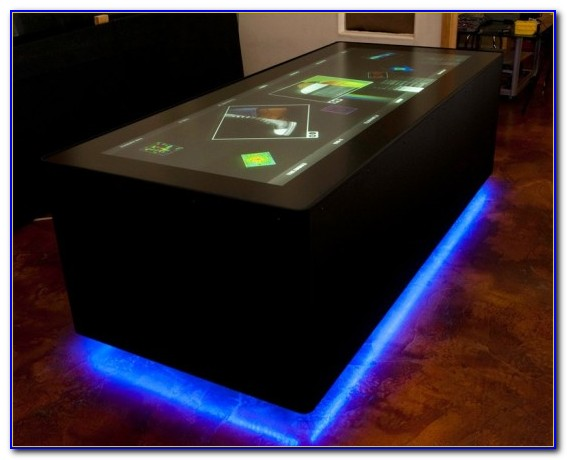 Tabletop Touch Screen Games