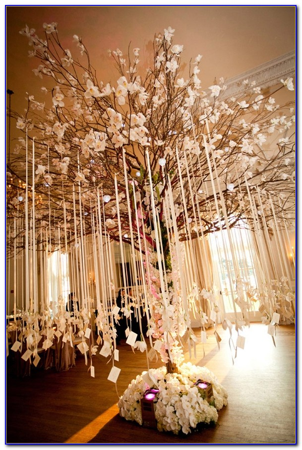 Tabletop Trees For Weddings
