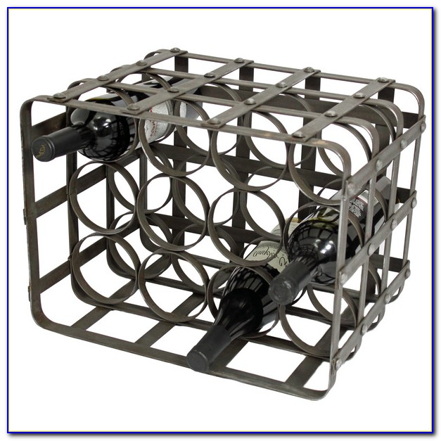 Tabletop Wine Rack Metal