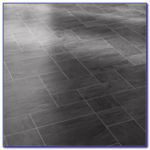 Tile Effect Laminate Flooring White