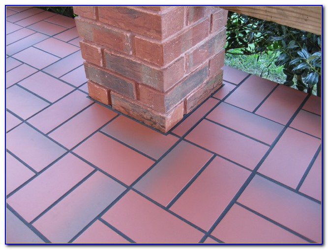 Tile Over Concrete Patio