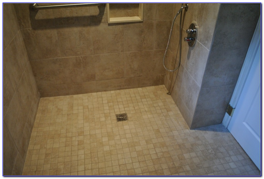 Tile Ready Shower Pan With Bench
