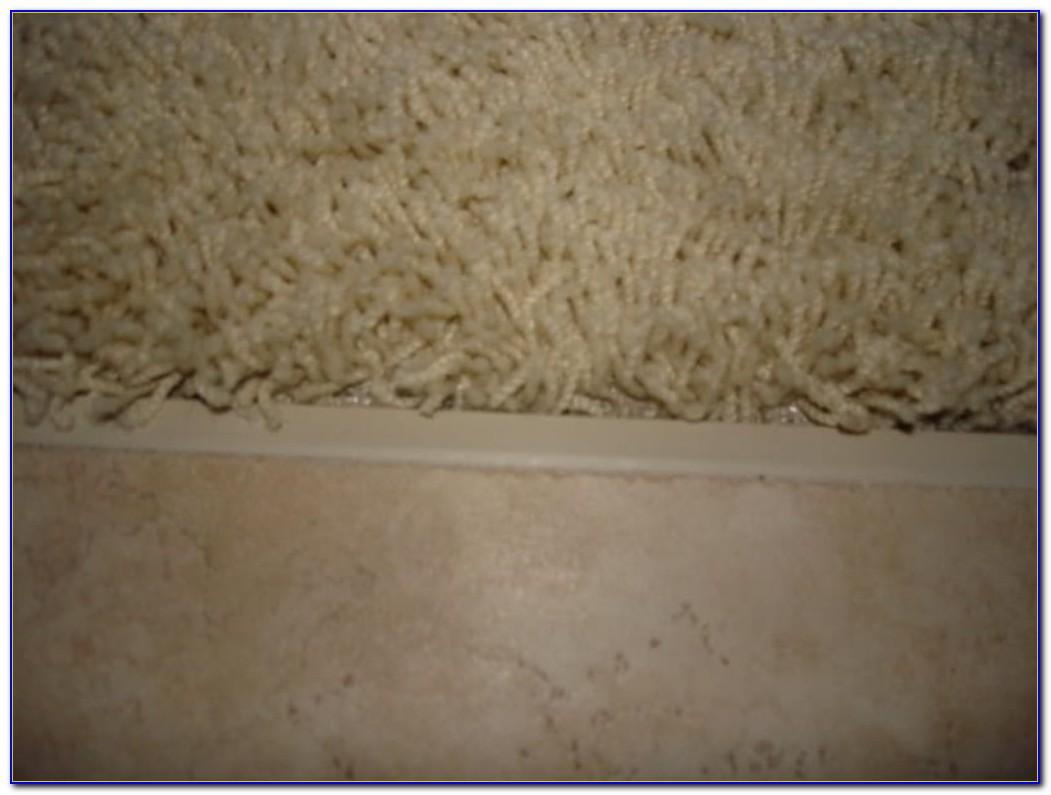 Tile To Carpet Transition On Concrete