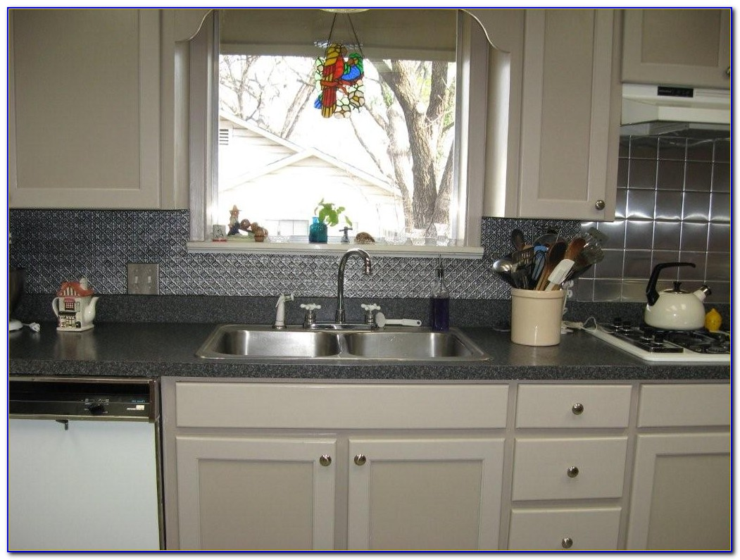 Tin Tiles Backsplash Canada