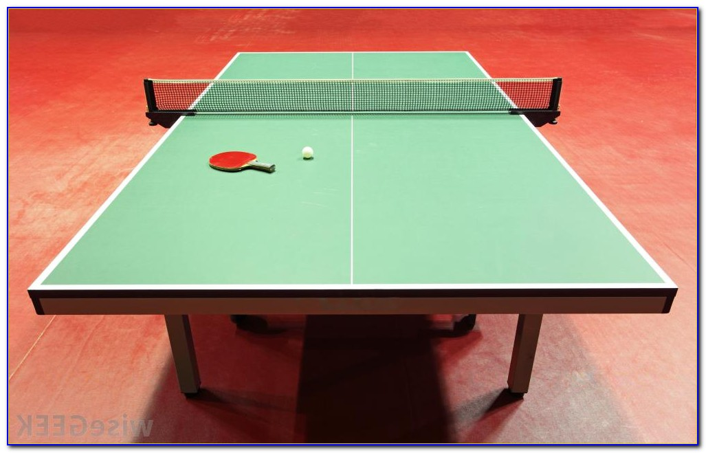 Top Table Tennis Table Brands