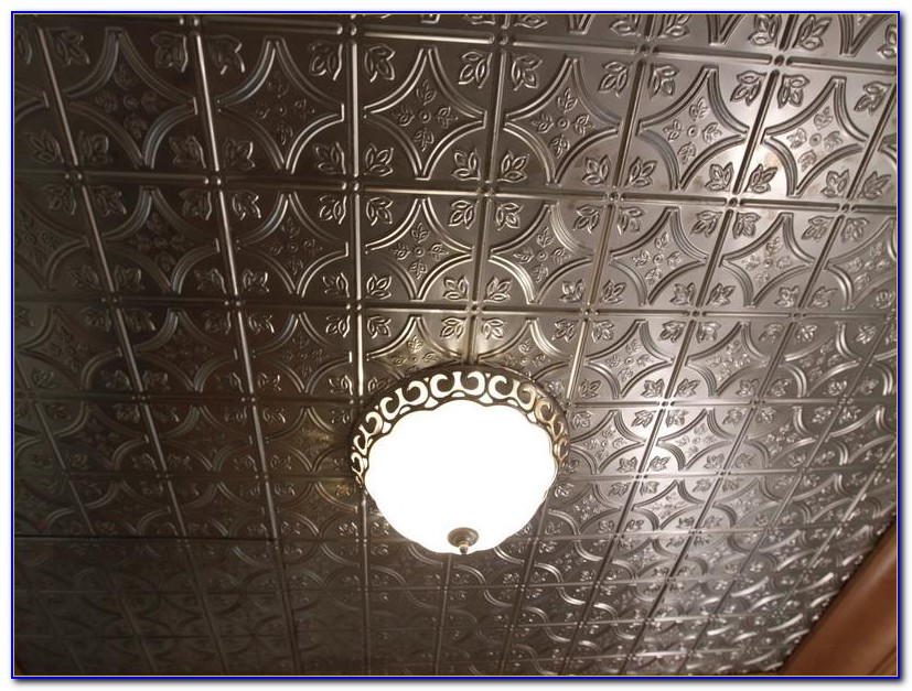 Vintage Look Tin Ceiling Tiles