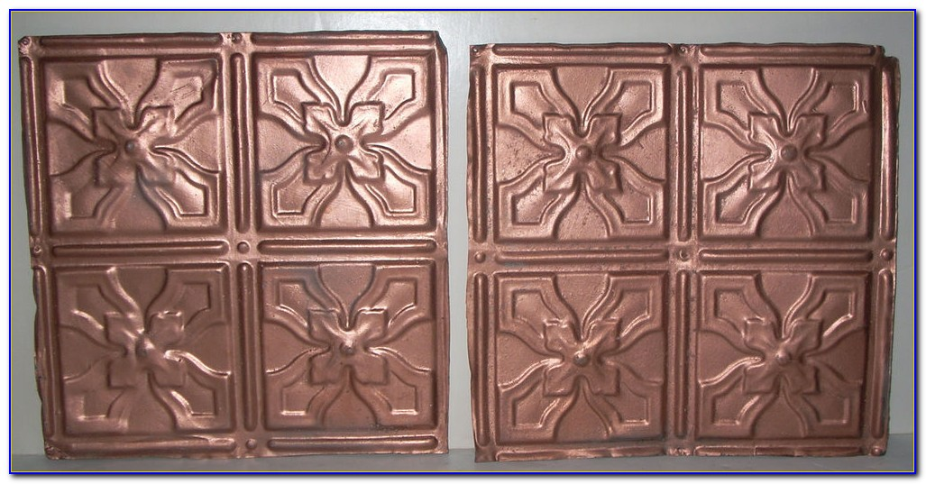Vintage Pressed Tin Ceiling Tiles