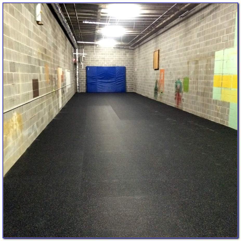 Virgin Rubber Gym Floor Tiles