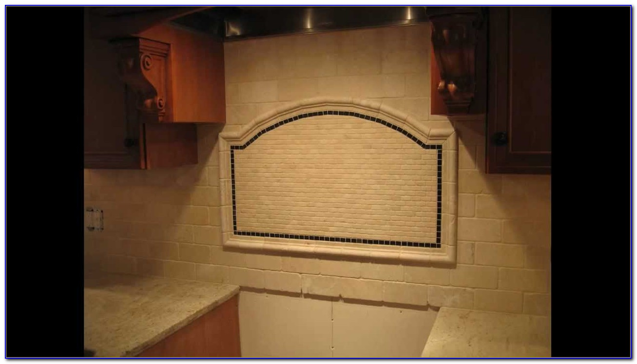 White Tumbled Marble Subway Tile