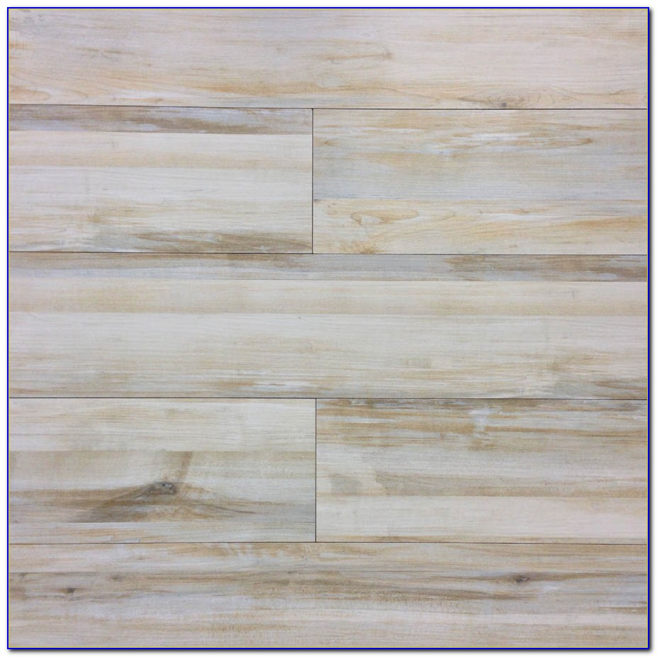 Wood Grain Porcelain Tile Bathroom