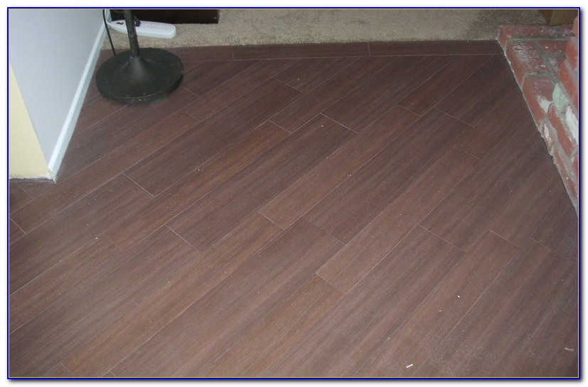 Wood Grain Porcelain Tile Planks