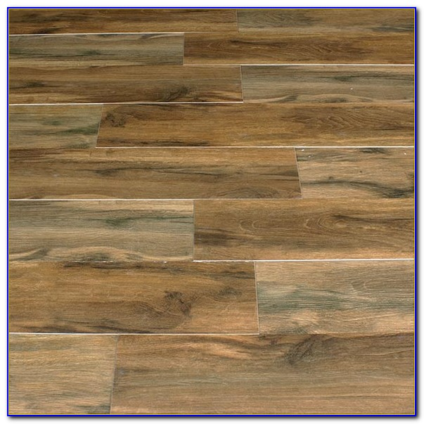 Wood Plank Porcelain Tile Installation