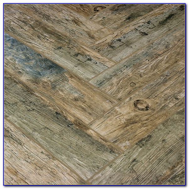 Wood Plank Porcelain Tile Layout